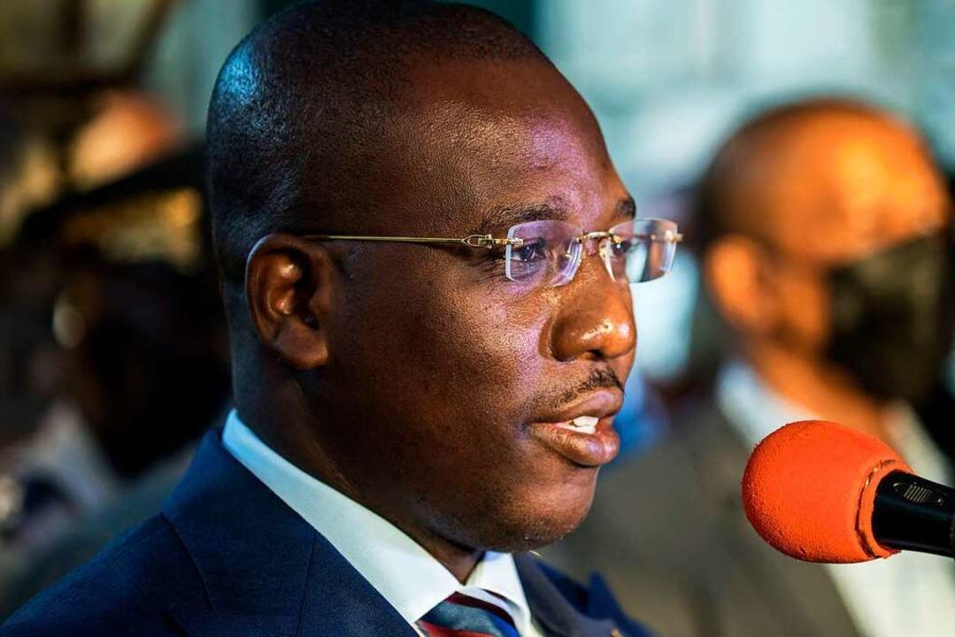 Gibt  das Amt des Regierungschefs ab: Claude Joseph  | Foto: VALERIE BAERISWYL (AFP)
