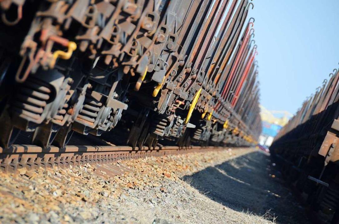 Kein Spielplatz und wirklich hochgefährlich können Güterzüge sein.  | Foto: Helmut Seller