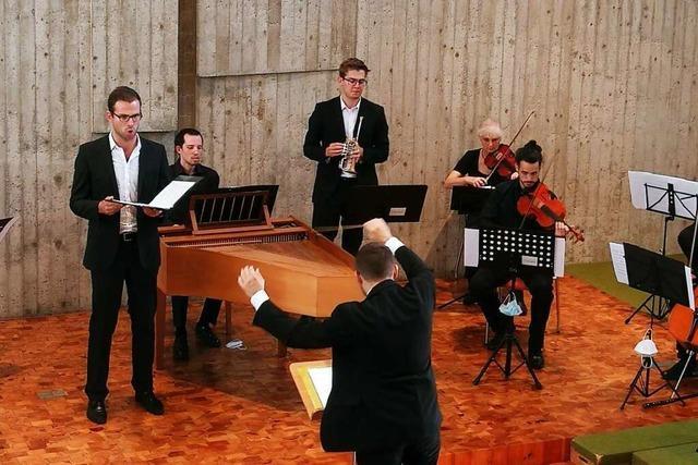 Evangelische Gemeinde Kirchzarten verabschiedet den Dirigenten Julian Handlos