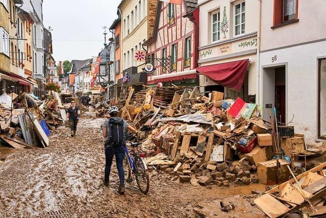 Hilfe aus dem Landkreis Lörrach für das Katastrophengebiet