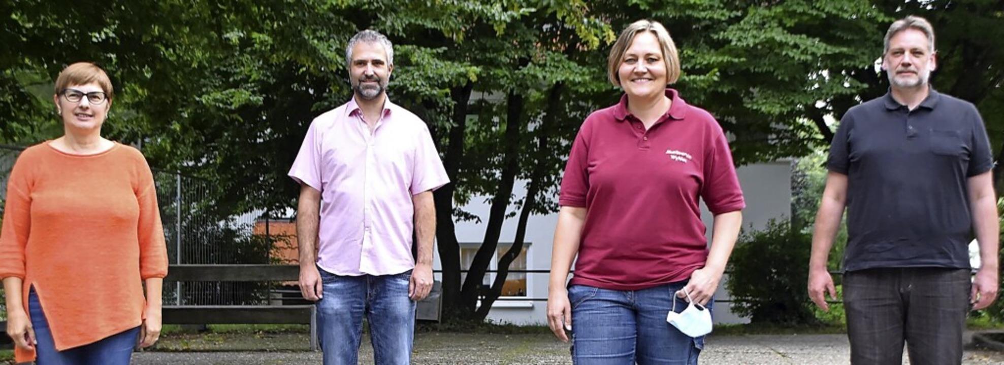 Gewählte von links: Kassiererin Renate...ampp und Schriftführer Daniel Schuster    Foto: Horatio Gollin