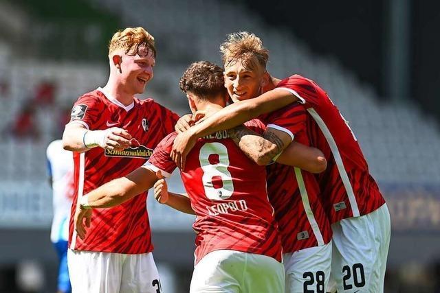 Leidensfähigkeit gefordert: Der SC Freiburg II startet in die dritte Liga