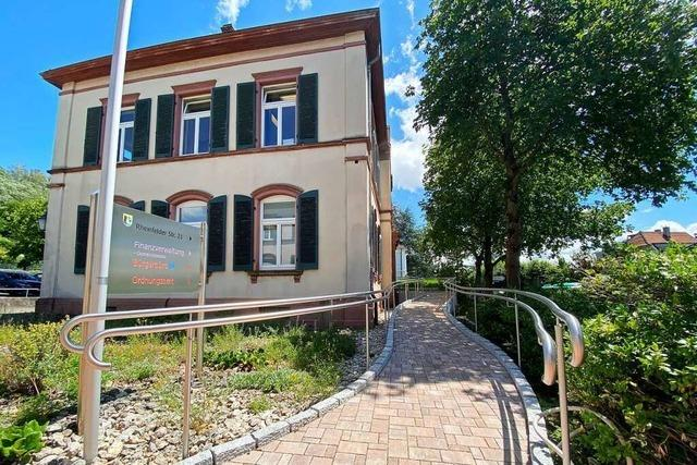 Sanierung des Rathauses in Wyhlen kostet 4,3 statt 2,9 Millionen Euro