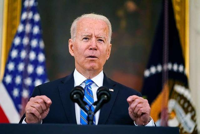 US-Präsident Biden riskiert Konflikt mit Parlament in Washington