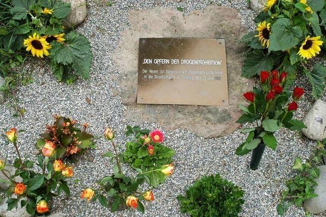 Neue Gedenkstelen für Freiburger Drogentote