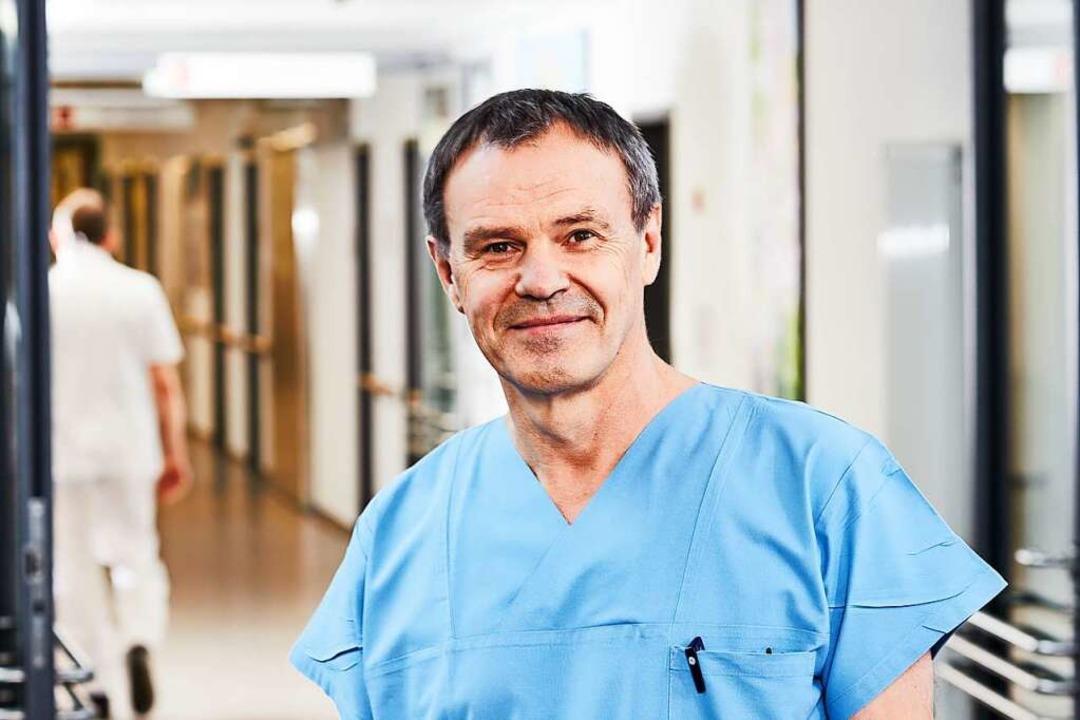 Fritz-Ulrich Hahne ist am Kreiskranken...Intensivmedizin und leitender Notarzt.  | Foto: Kreiskrankenhaus Emmendingen