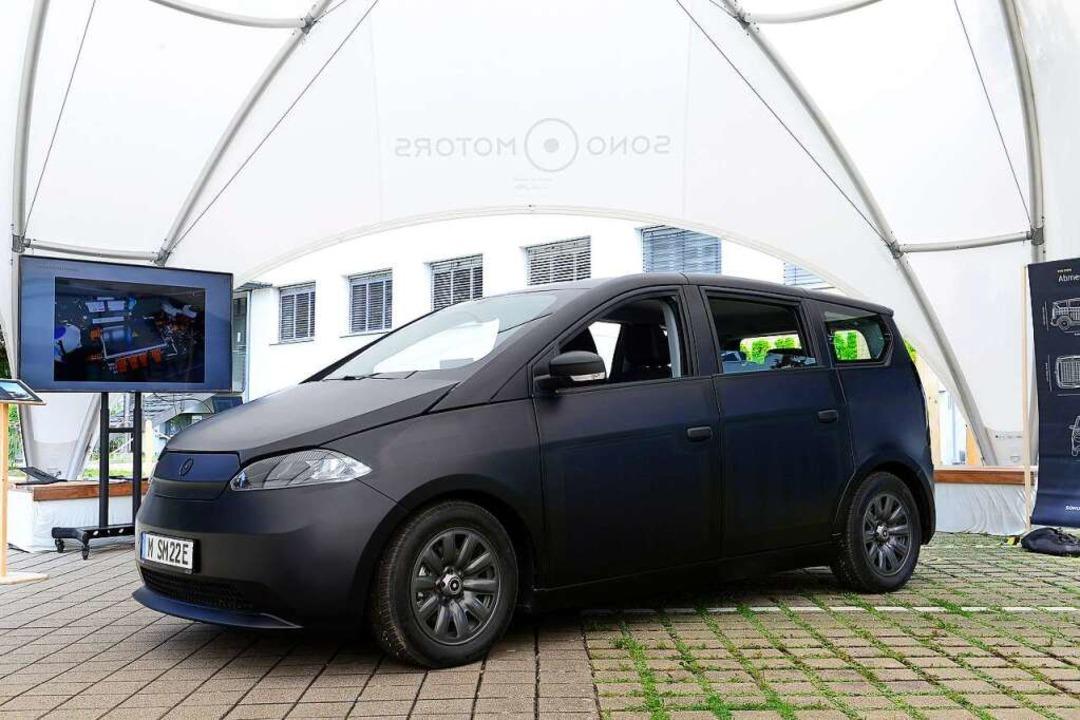 Nicht nur als Prototyp: Den Sion gibt ...ülle integriert und nahezu unsichtbar.  | Foto: Ingo Schneider