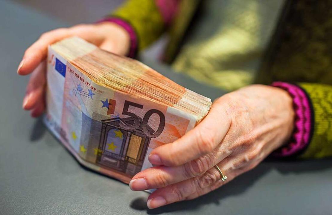 Große finanzielle Sprünge sind für Rheinfelden  2022 nicht drin.  | Foto: Matthias Balk (dpa)