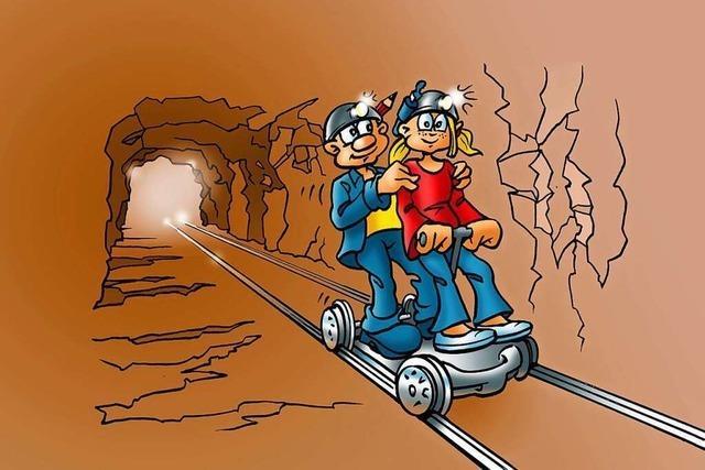 Familienführungen im Bergwerk Schauinsland