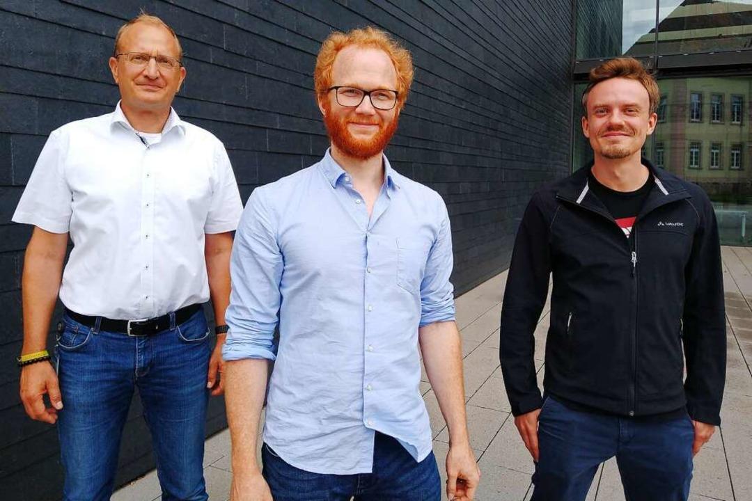 Das Biosense-Team (von links):  NicholasKrohn,  Stefan Burger und  Martin Schulz  | Foto: Endress+Hauser
