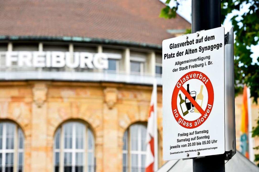 Das Glasverbot auf dem Platz der Alten...#8220; angefochten – mit Erfolg.    Foto: Thomas Kunz