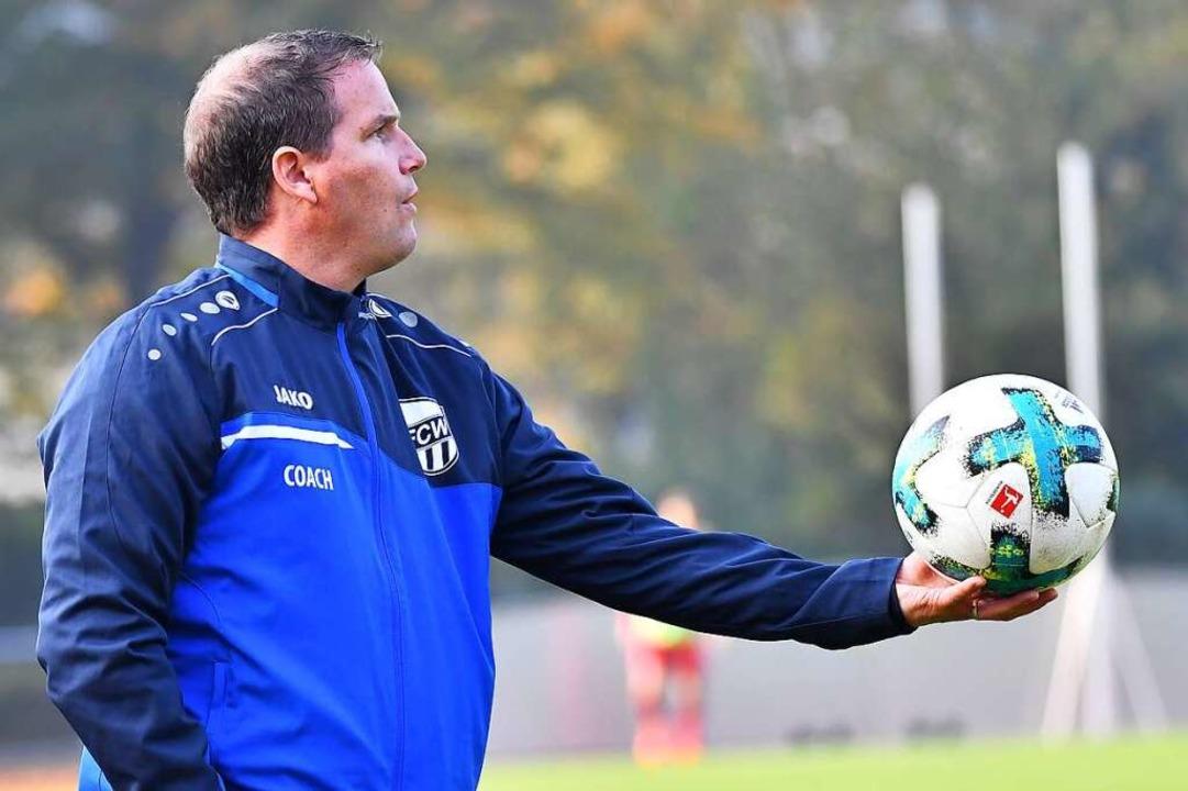 Jetzt für den FC Auggen verantwortlich: Trainer Daniel Kreisl.  | Foto: Achim Keller