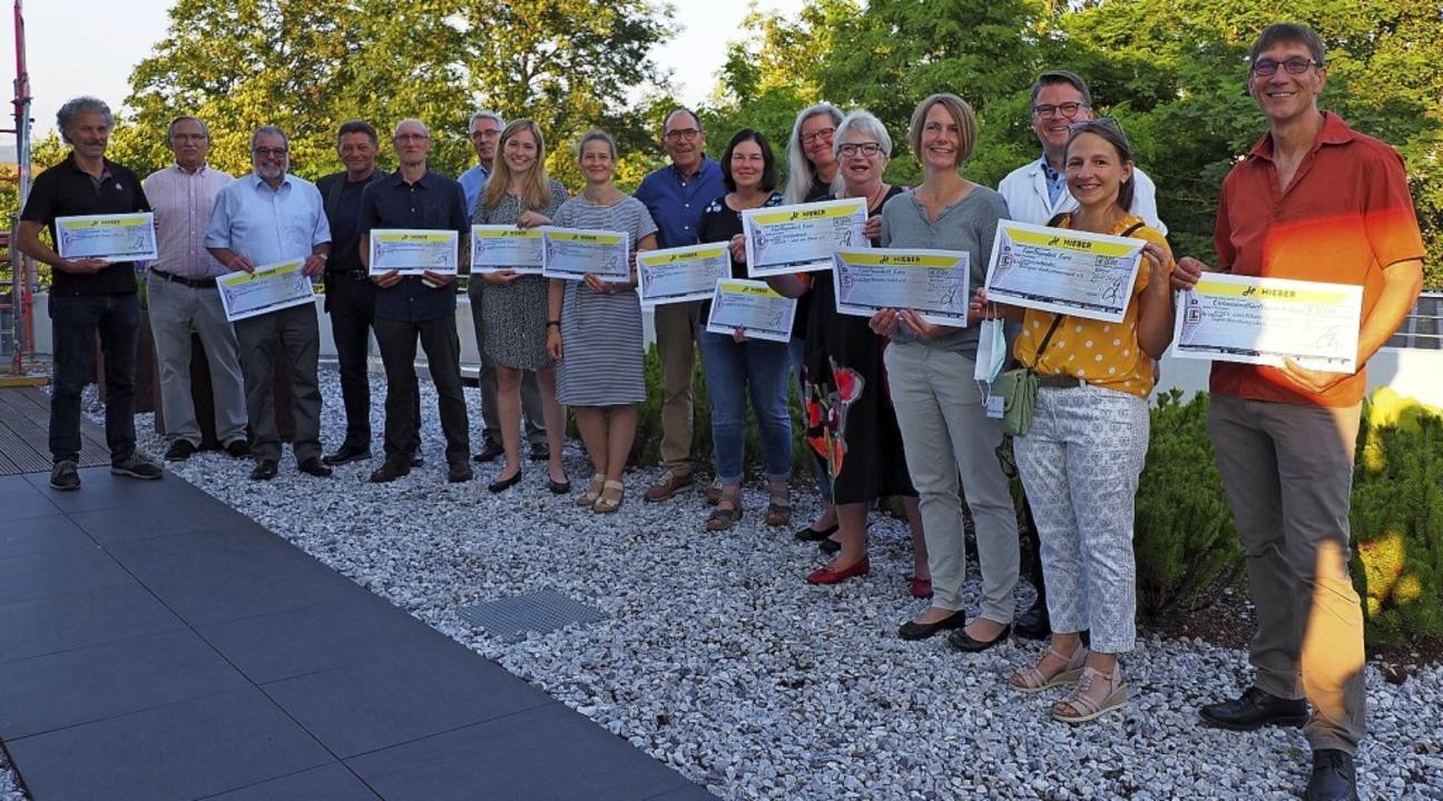 Elf Organisationen werden von der Hieber-Stiftung gefördert.     Foto: Herbert Frey