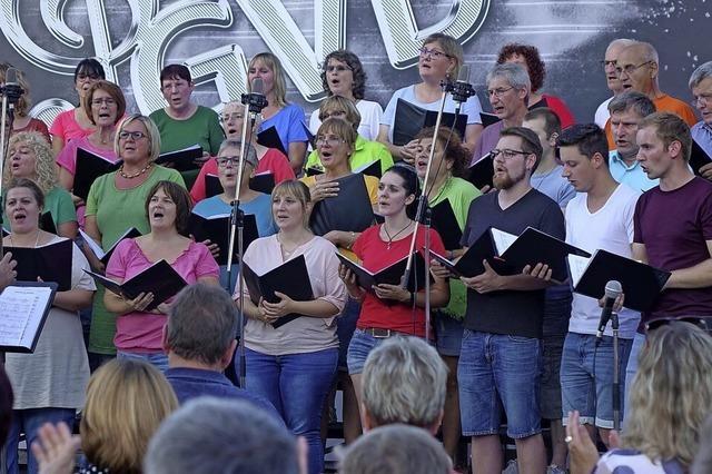 Der Chor bleibt trotz Krise in Form