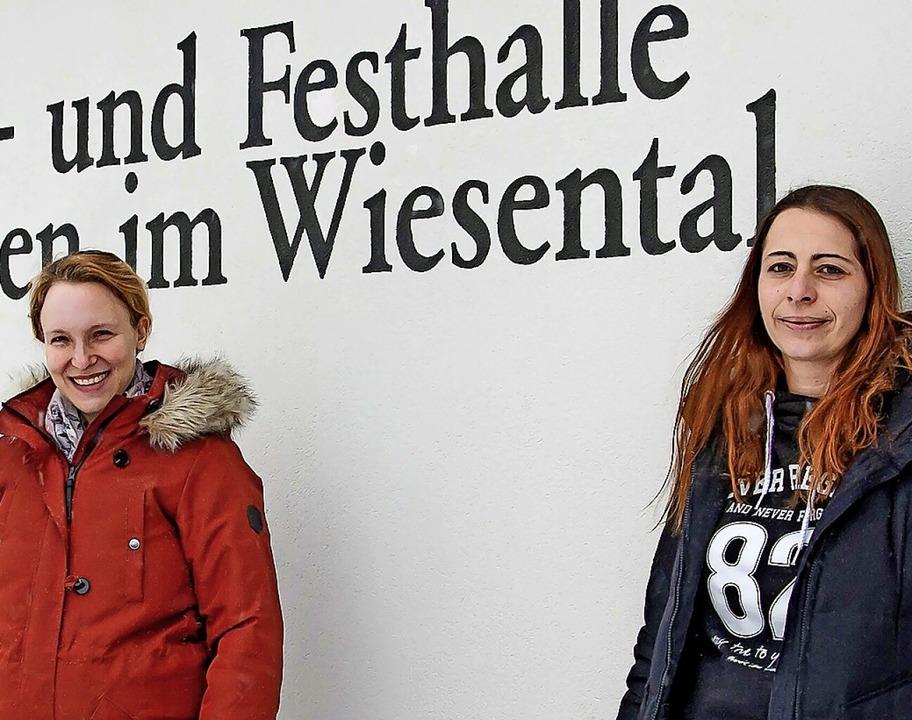 Sorgen sich um die Zukunft ihres Verei...(links) und Vorsitzende Romina Eichin.  | Foto: Paul Eischet