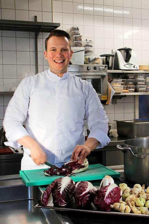 Dem Gemüse gilt die Vorliebe von  Niel...hef in Merkles Restaurant in Endingen.    Foto: Ruth Seitz