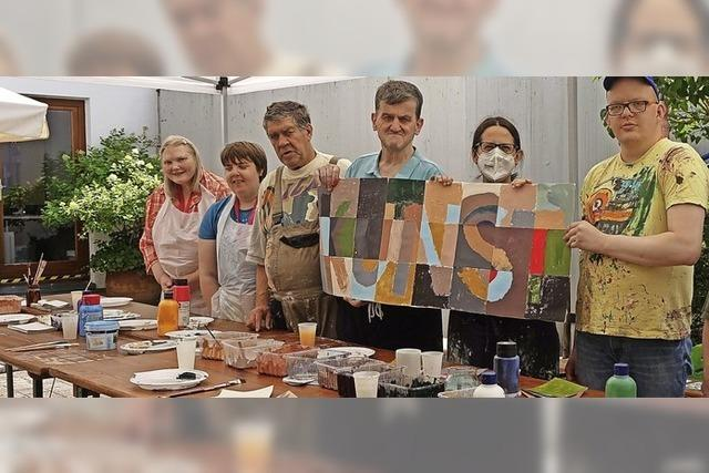 Mehr als 100 Wehrer Bürger schaffen Kunst