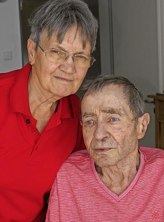 Ottilia und Klaus Rüttnauer    Foto: Werner Probst