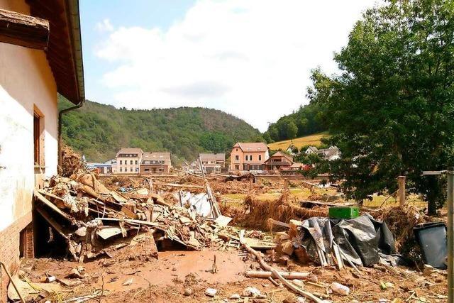 Bad Säckinger helfen im Flutgebiet in Rheinland-Pfalz
