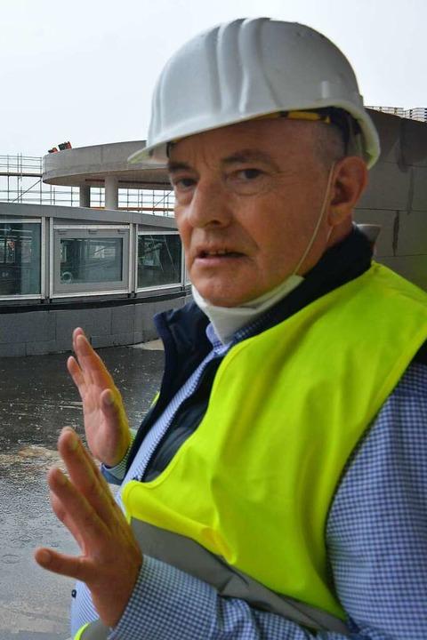 Andreas Thielemeier, Geschäftsführer der Cemagg    Foto: Hannes Lauber