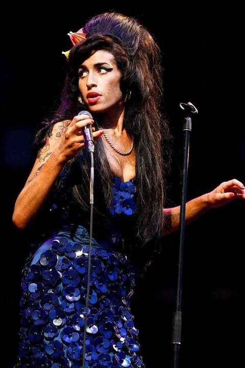 Winehouse war jahrelang schwer drogen-... Morrison mit gerade einmal 27 Jahren.    Foto: Frantzesco Kangaris (dpa)