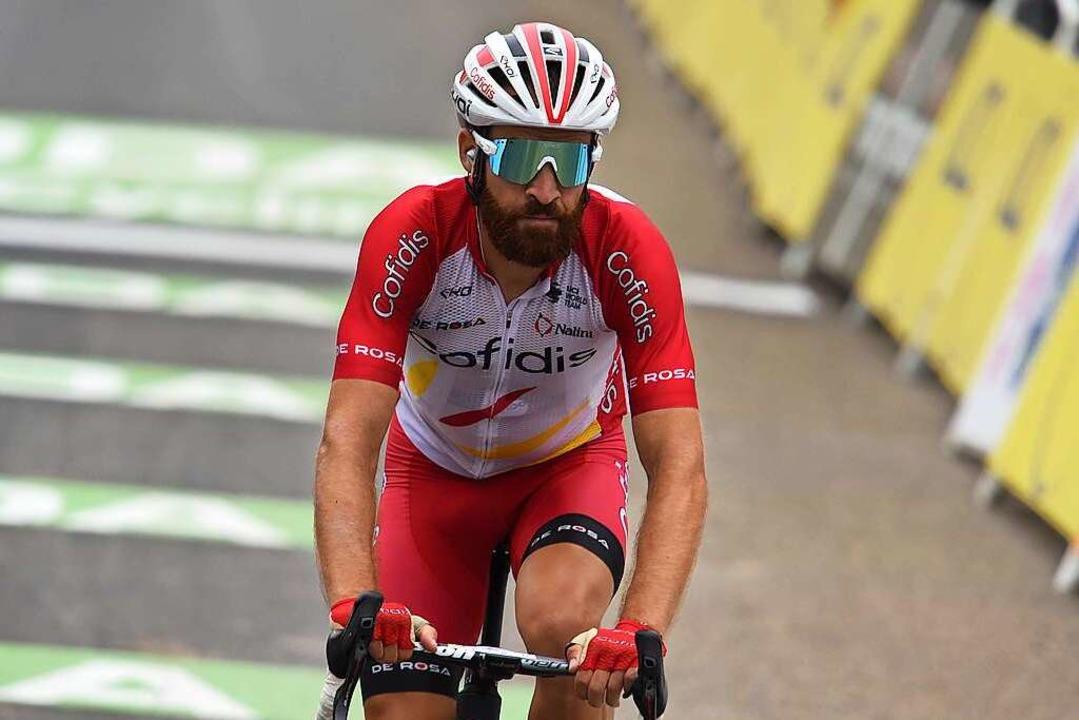 Simon Geschke, 35, fährt seit Anfang d...lfer seines Kapitäns Guillaume Martin.  | Foto: Fotoreporter Sirotti Stefano via www.imago-images.de
