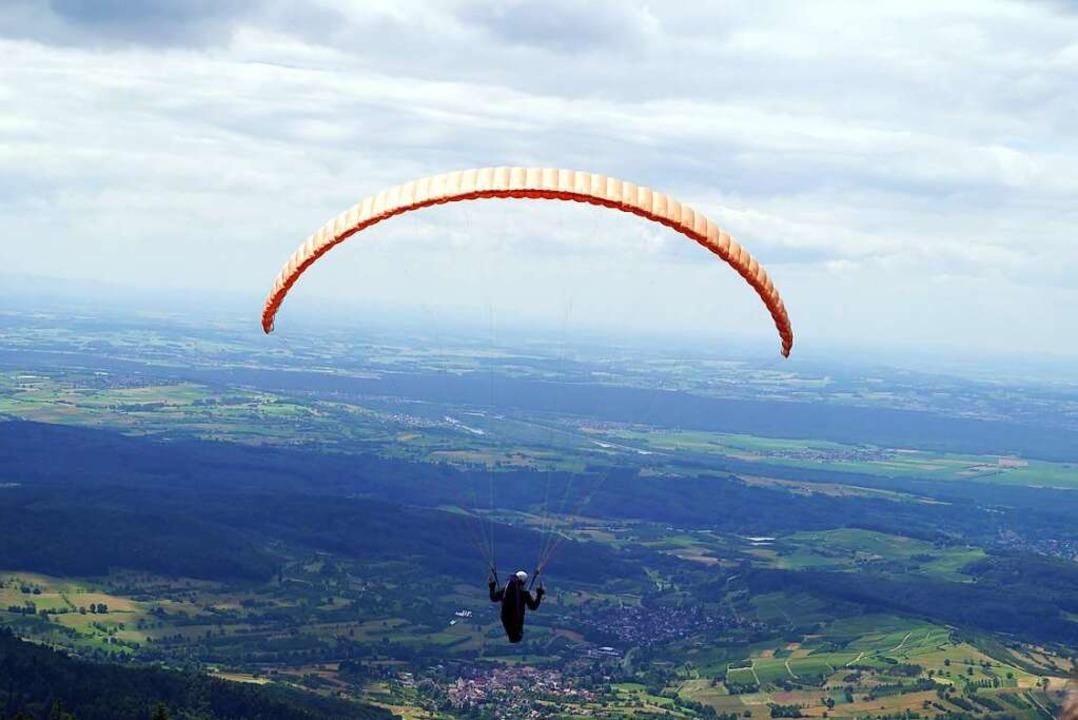 In Fröhnd führt das Gleitschirmfliegen zu Disputen (Symbolbild).  | Foto: Silke Hartenstein