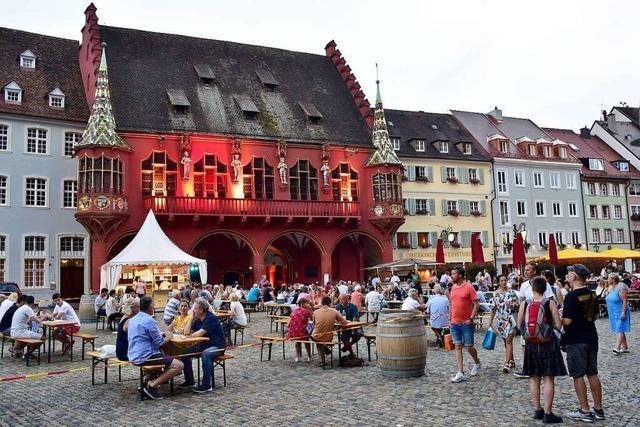 In Freiburg beginnt am 29. Juli das einzige Weinfest in der Region