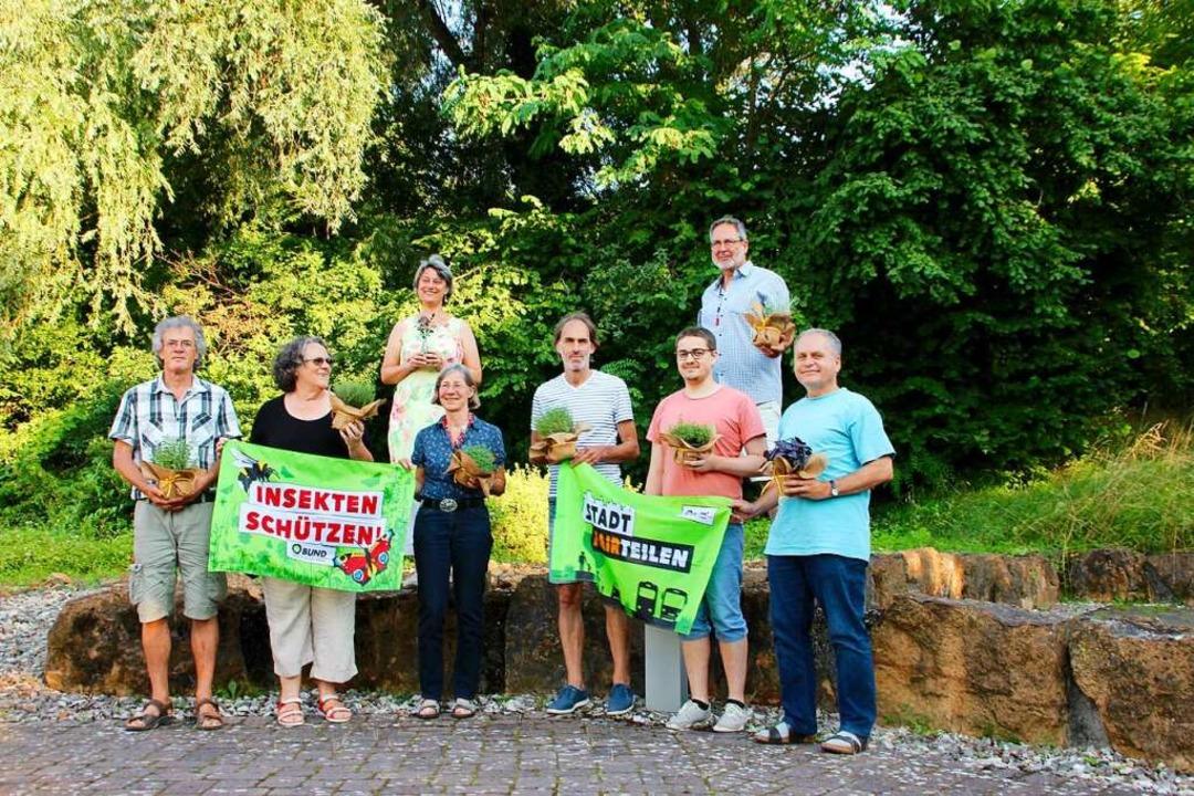 Der Vorstand der neu formierten BUND-O...ert, Wolfgang Hoffmann und Günter Hog.  | Foto: Erika Sieberts