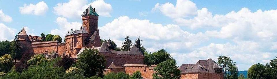 Burgen in der Region