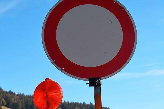 A98 wir für zwei Tage zwischen Lörrach und Rheinfelden gesperrt