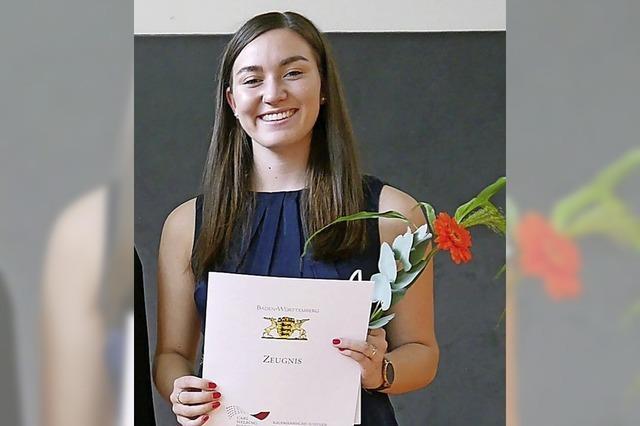 Lehrer erhalten Diplome