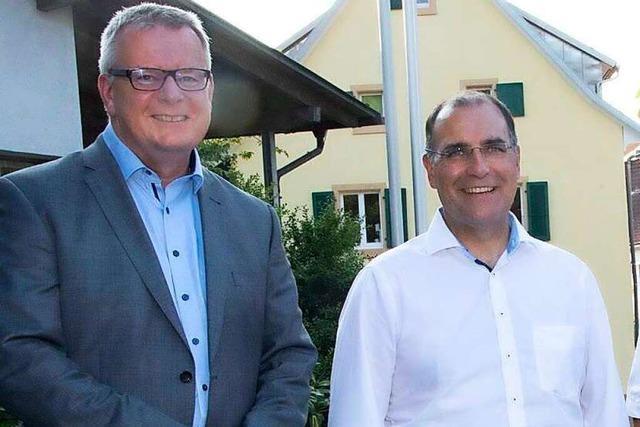 Bürgermeisterstellvertreter und Stadtrat Harald Stoll aus Sulzburger Gemeinderat verabschiedet