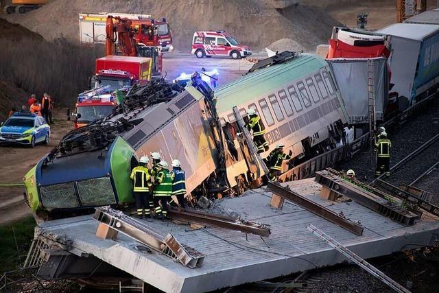 Zugunglück Auggen: Bericht benennt Fehler bei Brückenabriss