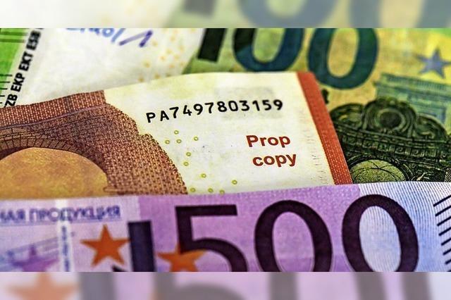 Weniger Falschgeld