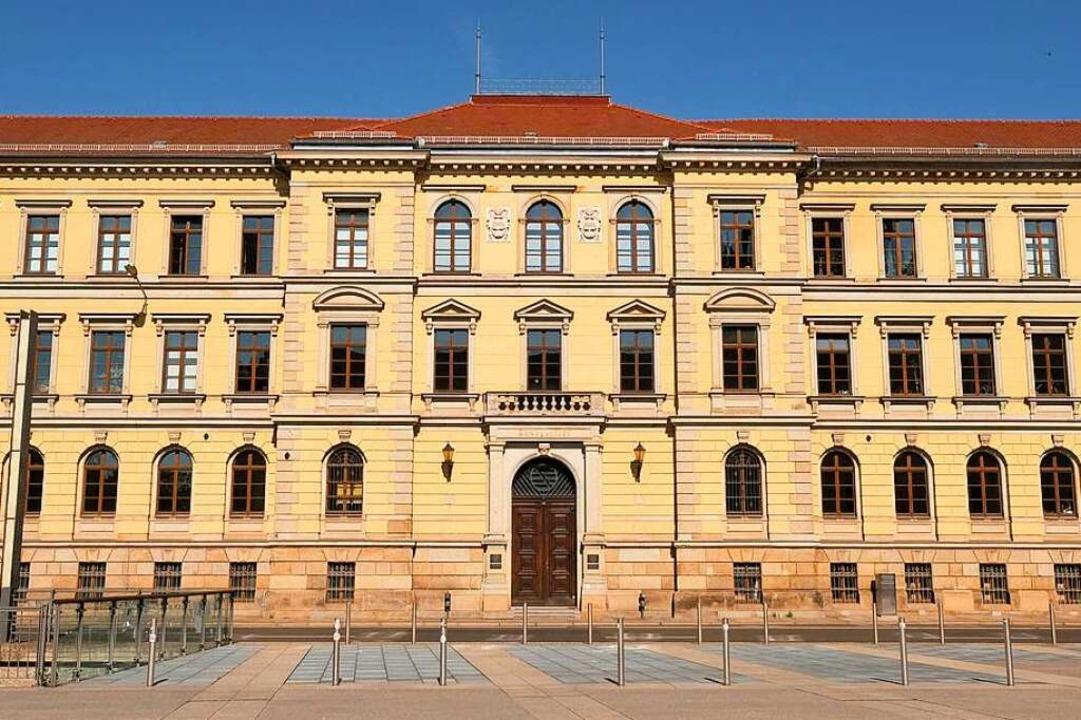 Der baden-württembergische Verwaltungsgerichtshof in Mannheim    Foto: Sebastian Willnow (dpa)