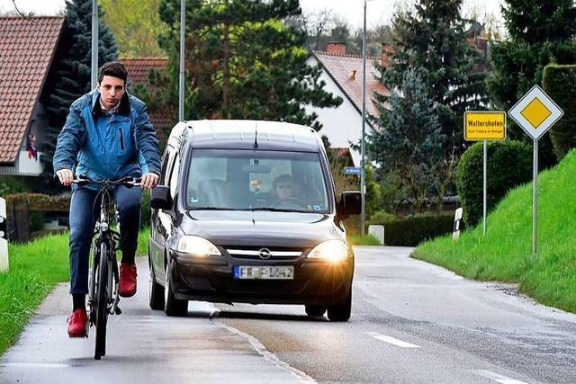 Raddemo soll der Forderung nach einem Radweg Nachdruck verleihen