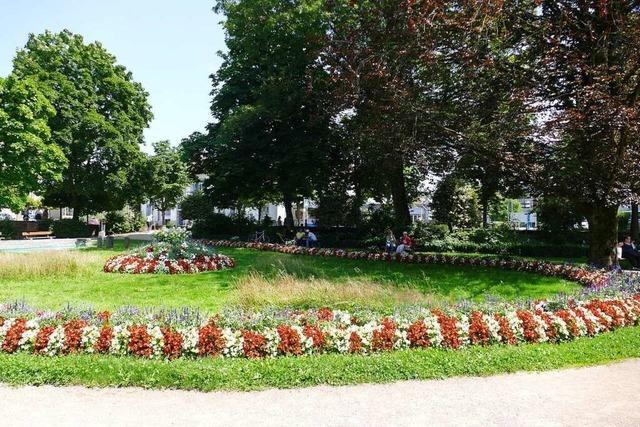 Aufenthaltsqualität im Schopfheimer Anna-Kym-Garten ist verbesserungswürdig