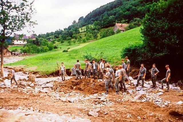 Freiamt und das Bleichtal waren 1987 Schauplatz einer Hochwasser-Katastrophe