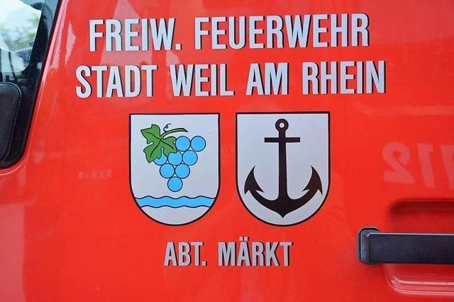 Standortsuche für Feuerwache Nord in Weil am Rhein dauert an