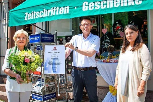 Die Lotto-Annahmestelle in Schopfheim wird 40 Jahre alt