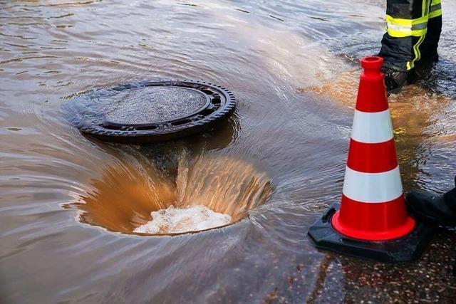 Starkregen zeigt Schwachstellen in Sulz auf
