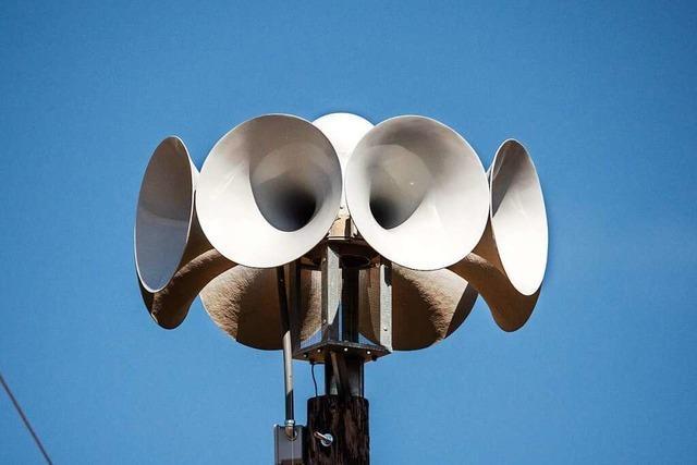 In Südbaden fehlt es an modernen Sirenenanlagen