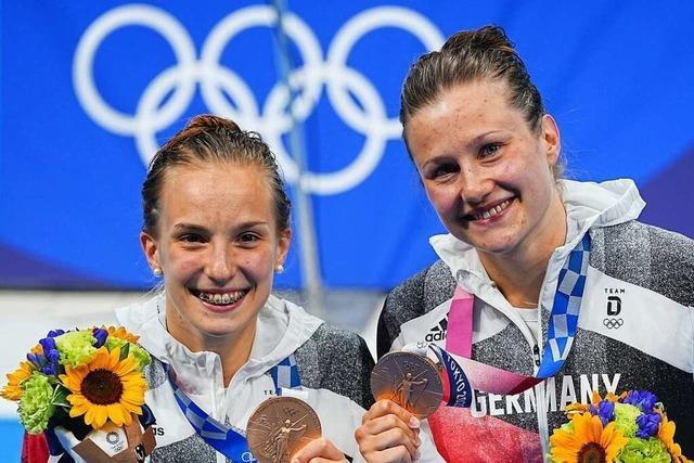 Erste deutsche Medaille geht an Wasserspringerinnen