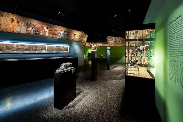 Im Basler Antikenmuseum tauchen Besucher in die Hochkultur am Nil ein