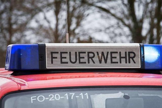 Erdblitz schlägt in Buchheim ein und verursacht Brand