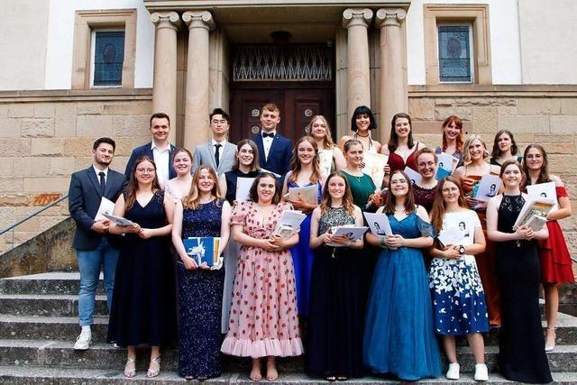 Abiturienten am Clara-Schumann-Gymnasium Lahr sind spitze