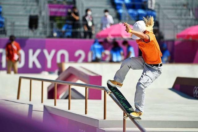 Japans Skateboardszene tritt bei Olympia aus dem Schatten