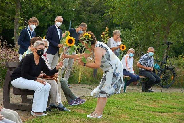Corona-Gedenkfeier an der Rheinfelder Kreisklinik