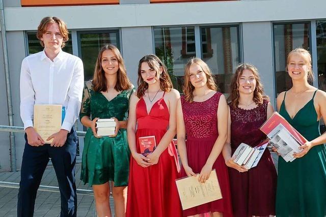 Am Städtischen Gymnasium Ettenheim wurde das Abitur gefeiert